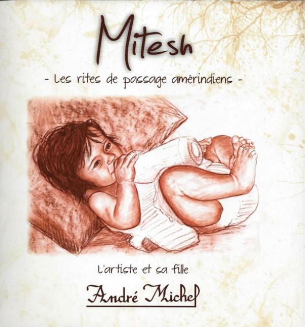 Mitesh, l'artiste et sa fille